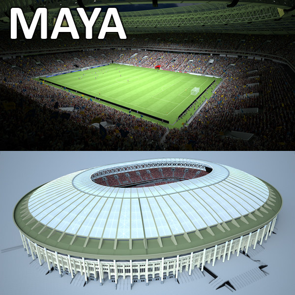 soccer stadium model