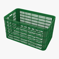 3D green grate model