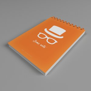 note notepad 3D