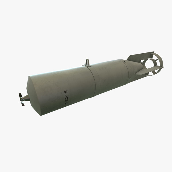 bomb p-50-75 3D model