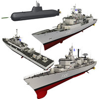 3D hellenic naval forces submarine