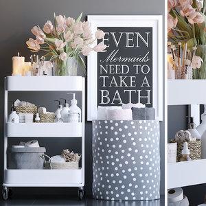 3D decorative bathroom
