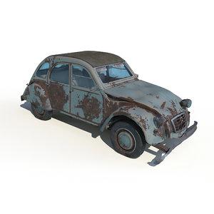 rotten car model