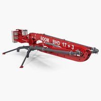makina bhd17 concrete boom 3D model
