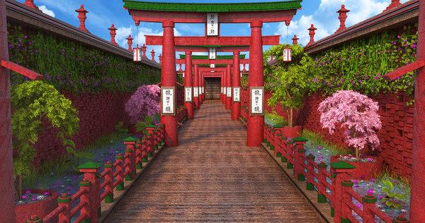 3D fantasy asia