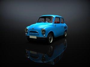 3D car zaz-965 yalta