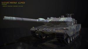 leopard 2a6 3D