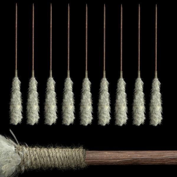 tribal arrow 3D
