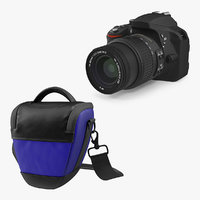 Optical Camera and Bag 3D Models Collection