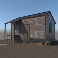 Wooden shed 2