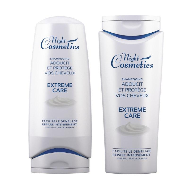 bottle shampoo cosmetic 3D model