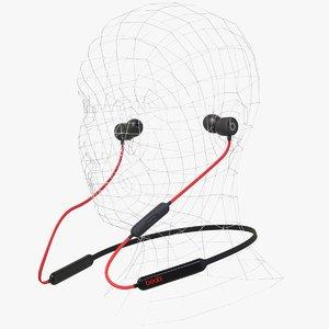 3D model headphone beatsx head