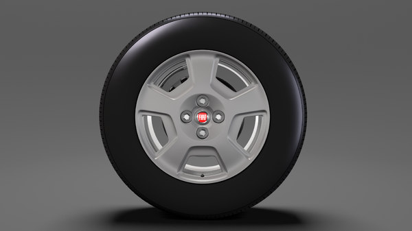 fiat fiorino wheel 2017 3D model