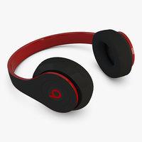 headphones beats 3D model