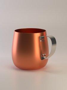 moscow mule mug 3D model