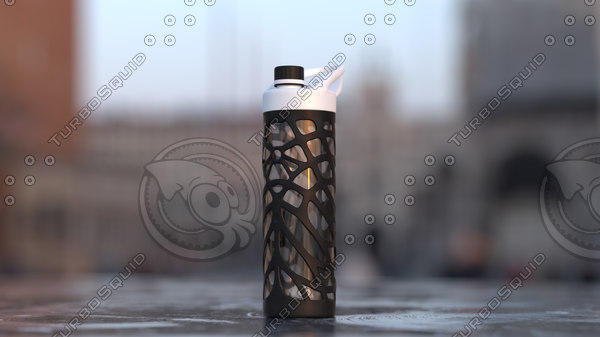 bottle liquid 3D