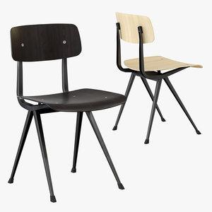 hay chair 3D model