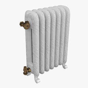 guratec diana radiator 3D model