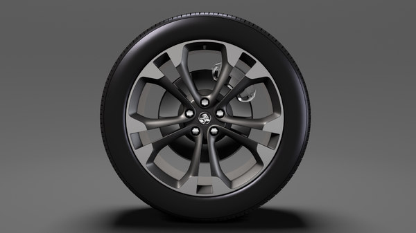 3D model holden cascada wheel 2017