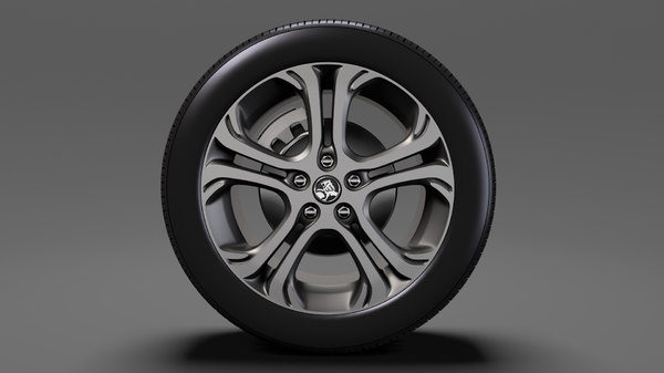 holden bolt ev wheel 3D model