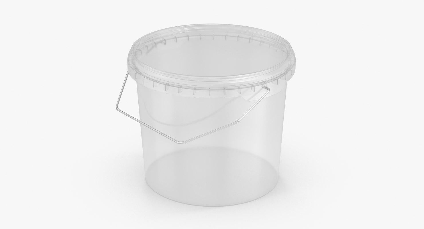3D plastic bucket 1