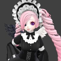 cute gothic 3D