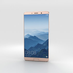 huawei mate 10 3D model