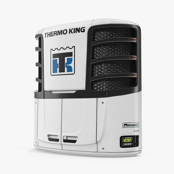 3D model refrigerator thermo king c600