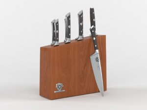 dalstrong knife set block 3D model