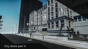 city block 3 3D