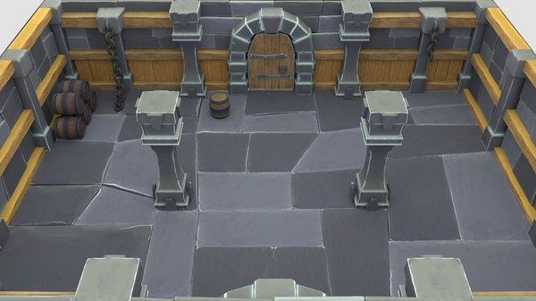 Dungeon 3D Models For Download