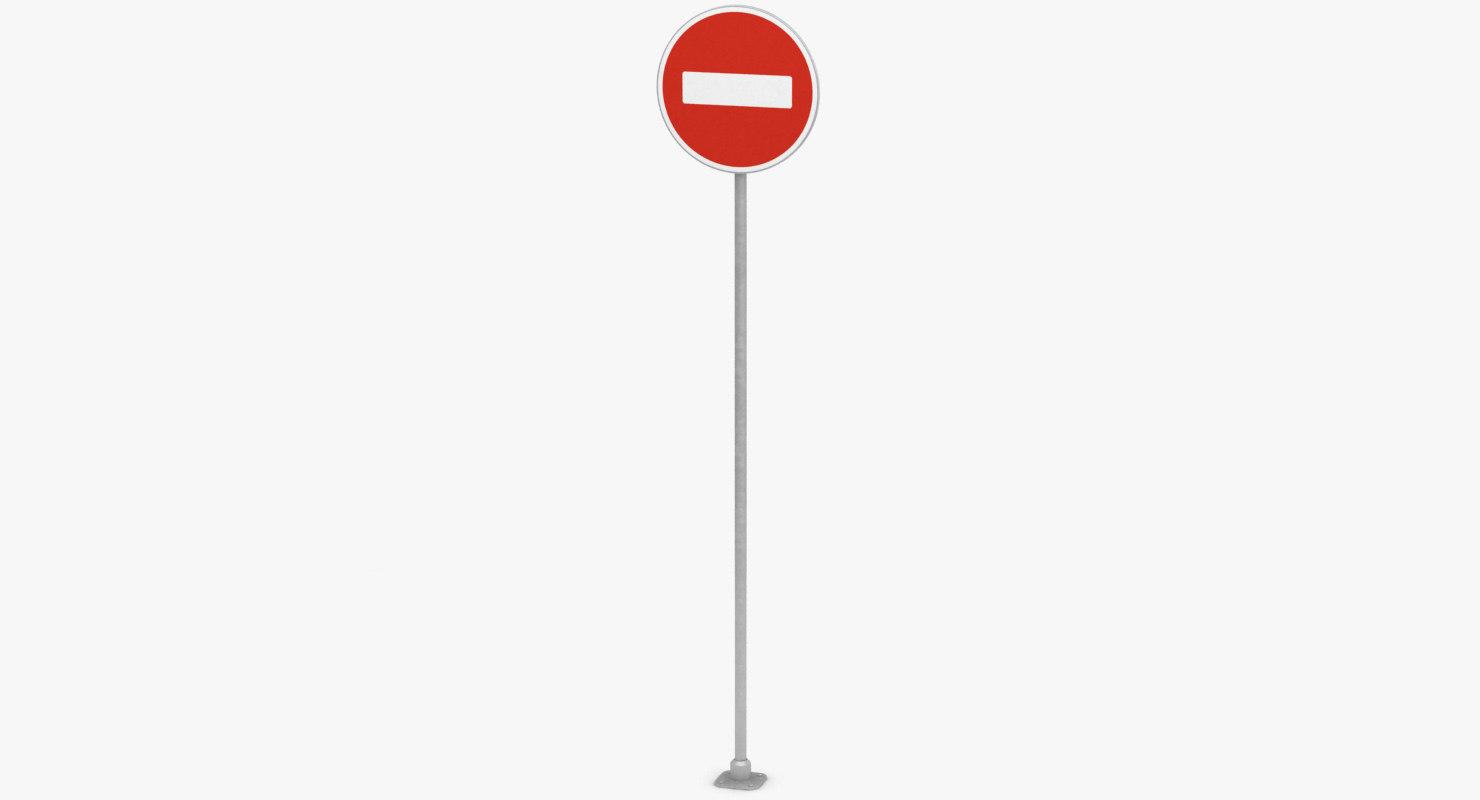 traffic sign model