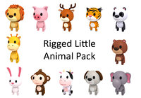 Rigged Animal Pack