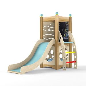 3D indoor playset