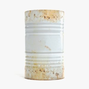 3D industrial barrel