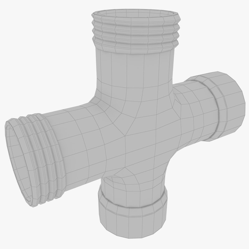 pipe cross model