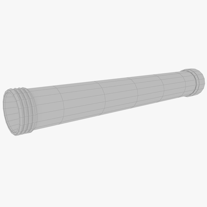 3D model pipe industry pipeline