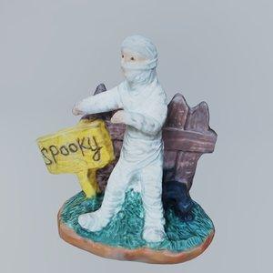 spooky mummy 3D model