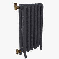 3D guratec jupiter radiator model