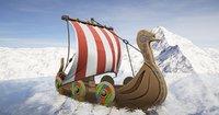 Viking Ship Stylized