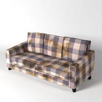 dirty couch 3D model