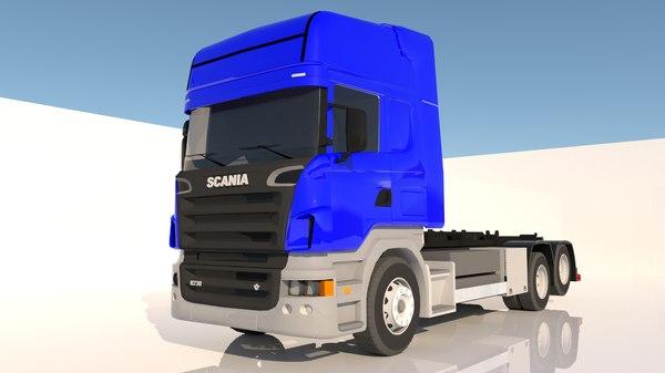 3D scania s 730 model