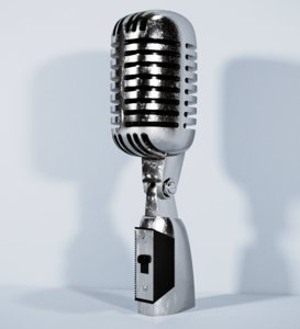 microphone vintage elvis 3D model
