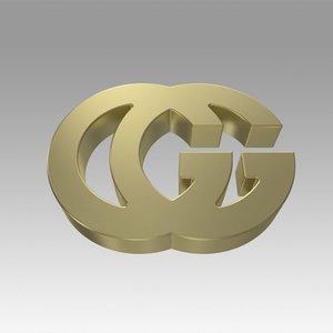 3D model gucci