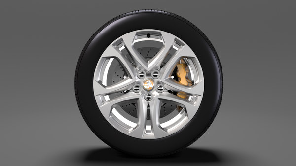 holden commodore ss wheel 3D model