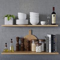 kitchen decor 1 3D model