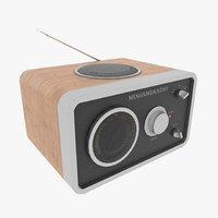 3D radio receiver