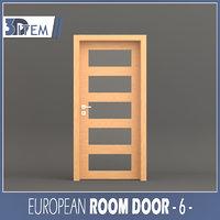room door 3D model