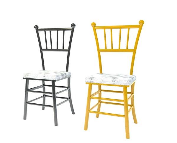 chaivari chair 3D model