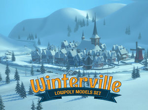 winterville village house 3D